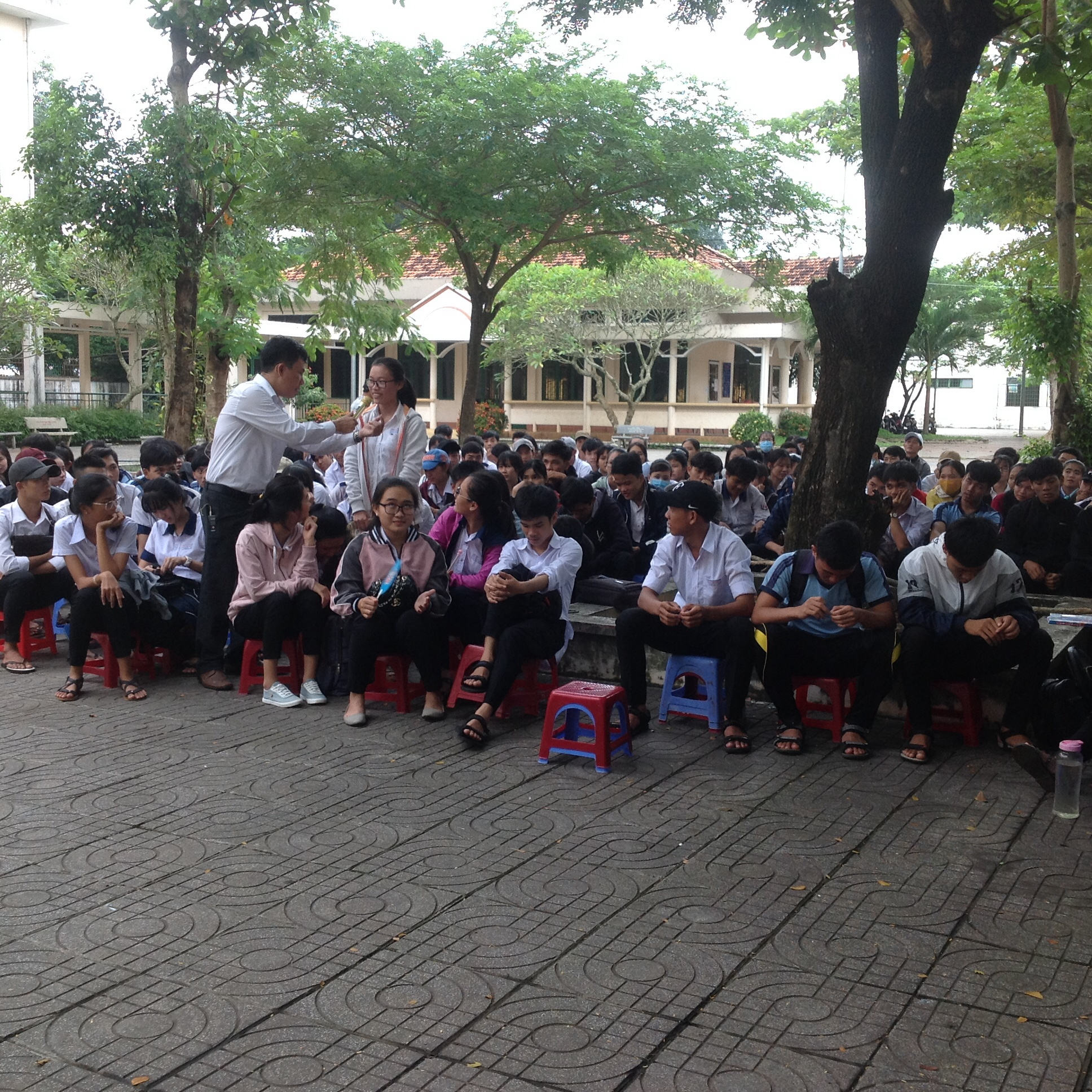 Trường THPT Phước Bửu - Xuyên Mộc